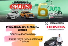 Promo Honda Brv & Mobilio Lombok(1)