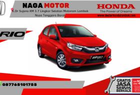 Harga Honda Brio Terbaru 2019 di mataram Lombok NTbb