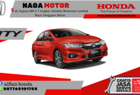 Harga Honda City Lombok Mataram Ntb