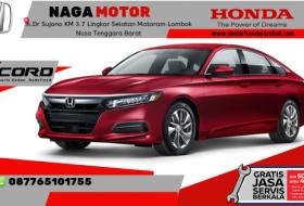 Harga New Honda Accord Lombok Mataram ntb