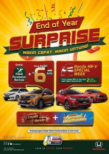 Promo Mobil Honda End Of Year